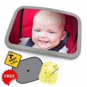 Car Sun Shades Universal Baby Car Window Shades are Best for Blocking Over 98% of Harmful UV Rays